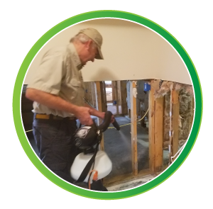 Remove Mildew & Mold from House Remediation.